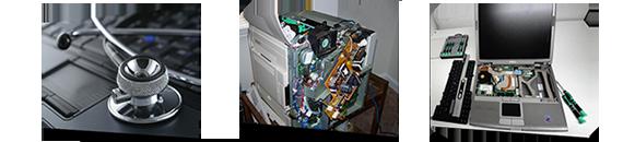 PC hardware, Laptops, Computers, Printers repair
